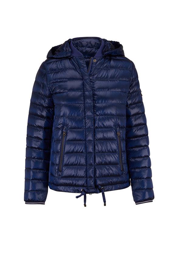 Bogner Tini Royal Blue Hooded Puffer Jacket
