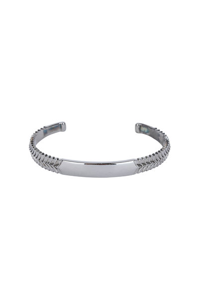 Stephen Webster - Torque Sterling Silver Herringbone Cuff