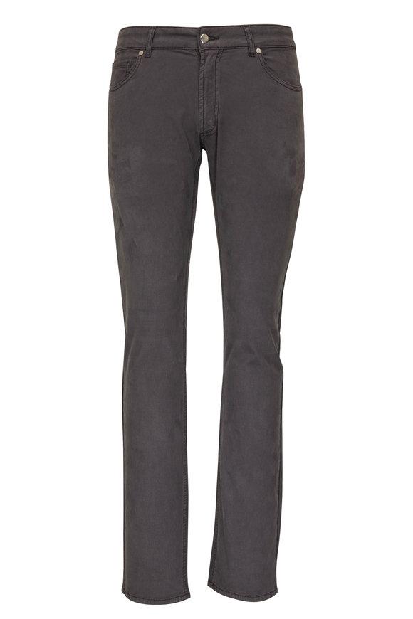 Peter Millar Wayfair Charcoal Gray Five Pocket Jean