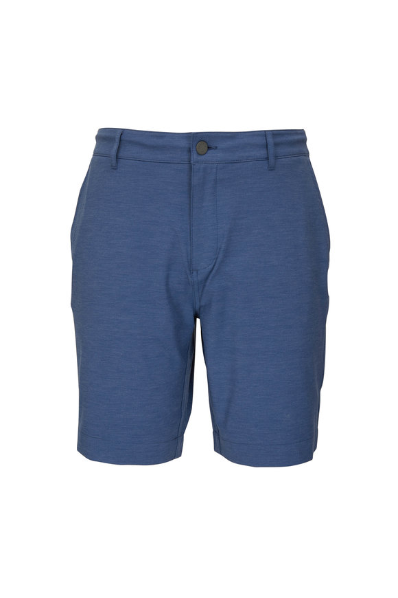 Faherty Brand All Day Belt Loop Navy Shorts