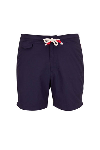Orlebar Brown - Standard Navy Blue Swim Trunks