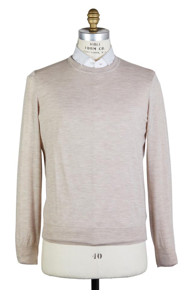 Oatmeal Wool & Cashmere Sweater
