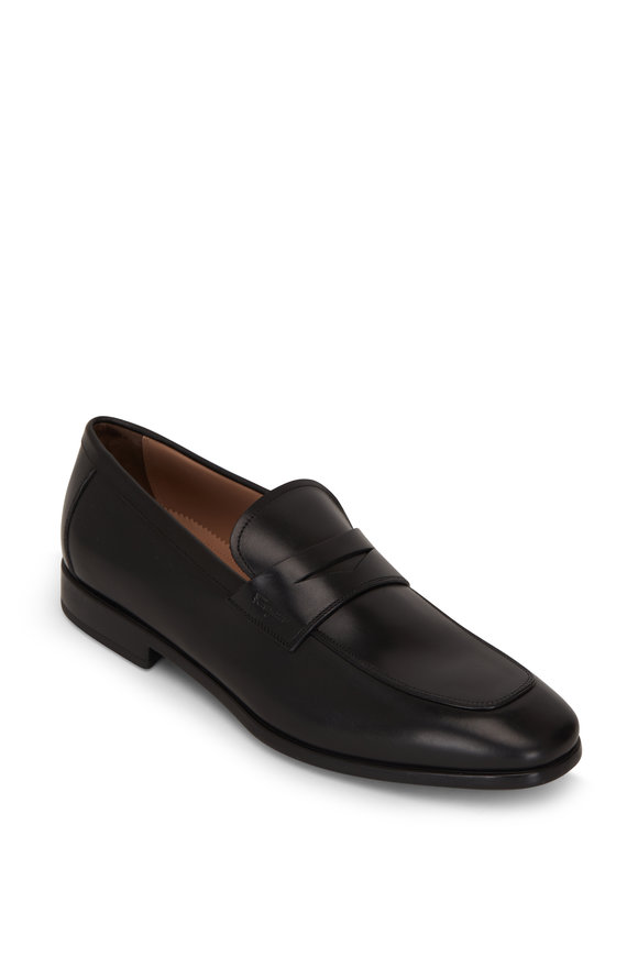 Salvatore Ferragamo Recly Black Leather Loafer
