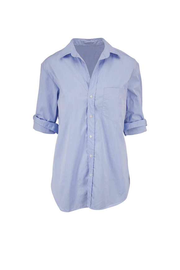 Frank & Eileen Joedy Light Blue Poplin Button Down