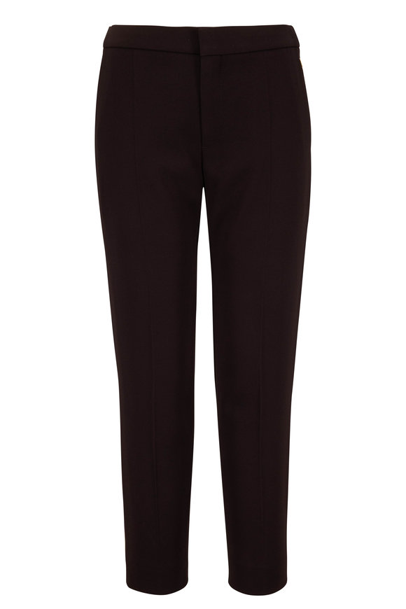 Chloé Black Cropped Pant