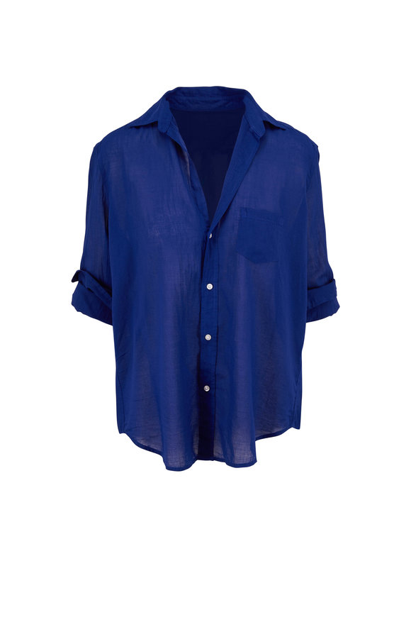 Frank & Eileen Eileen Royal Blue Button Down