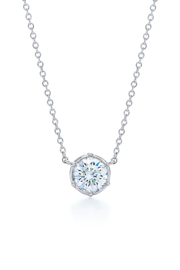Kwiat 18K White Gold Classic Collection Diamond Necklace