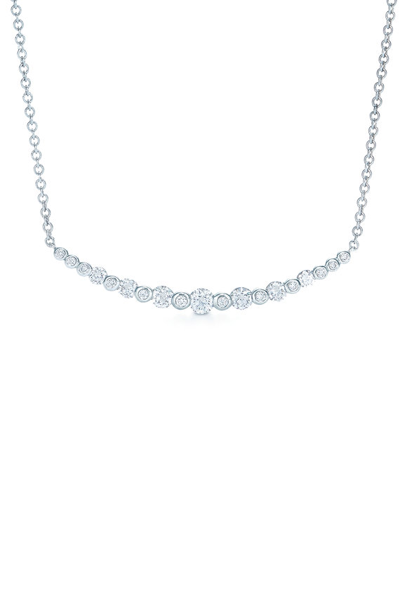 Kwiat 18K White Gold Diamond Starry Night Necklace