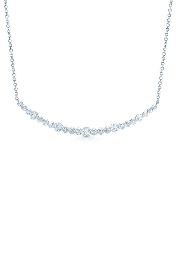 Kwiat 18K White Gold Starry Night Pendant Necklace