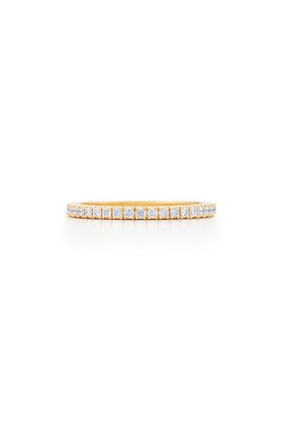 Kwiat - 18K Yellow Gold Diamond Stack Ring