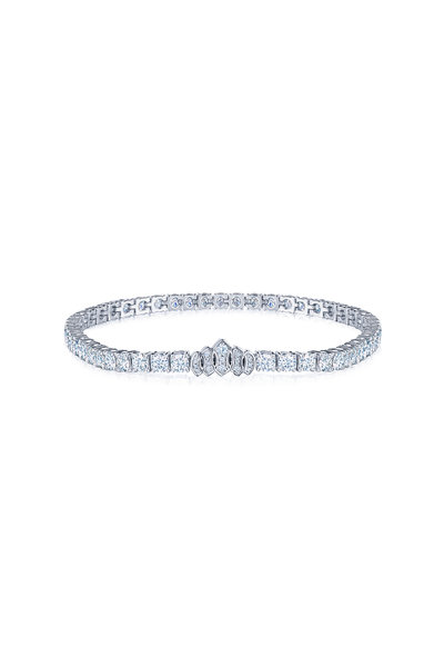 Kwiat - 18K White Gold Diamond Riviera Bracelet