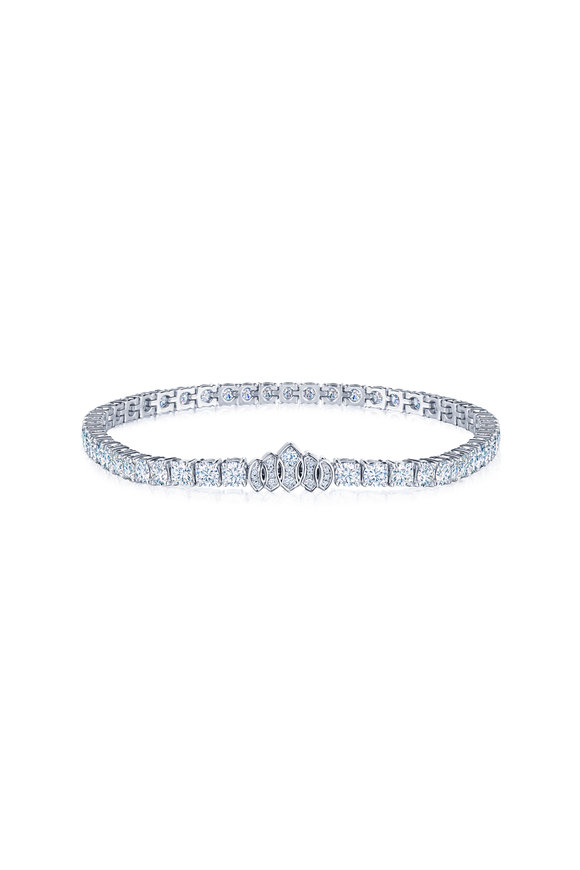 Kwiat 18K White Gold Diamond Bracelet
