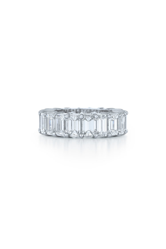 Kwiat Platinum Diamond Wedding Band