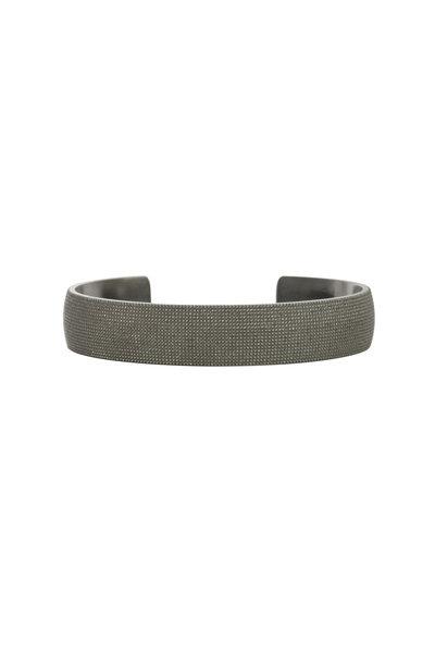 .925Suneera - Mason Sterling Silver Large Cuff