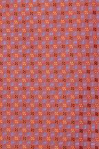 Eton - Orange & Purple Geometric Silk Necktie
