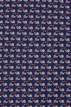 Salvatore Ferragamo - Navy Blue Snail Silk Necktie