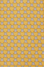 Salvatore Ferragamo - Yellow Animal Print Silk Necktie