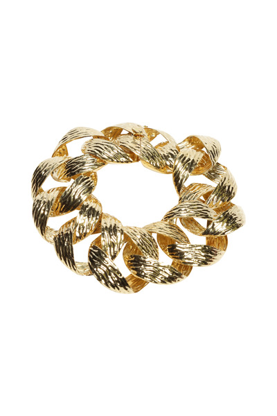 Assael - Large Link Gold Bracelet