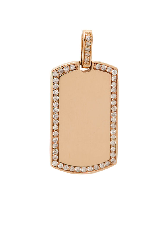 My Story Jewel 14K Yellow Gold Blank Pendant