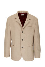 Brunello Cucinelli - Natural Cashmere Water Repellent Blazer