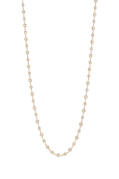 Penny Preville - Rose Gold Diamond Eyeglass Necklace