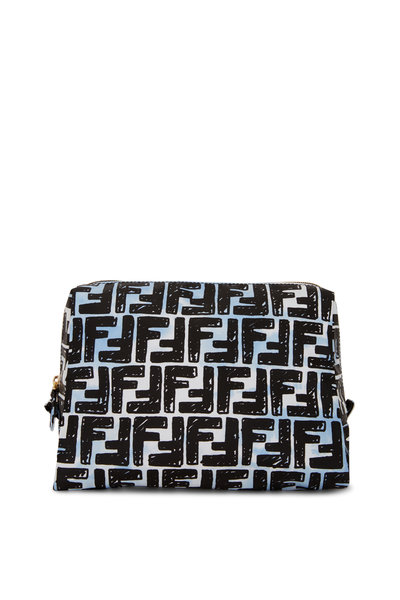 Fendi - Multicolor FF Nylon Medium Make-Up Pouch