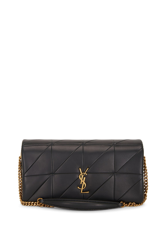 Saint Laurent Jamie Algae Diamond Quilted Leather Shoulder Bag