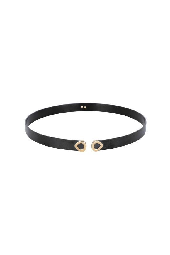 Marina B 18K Yellow Gold & Titanium Luna Collar