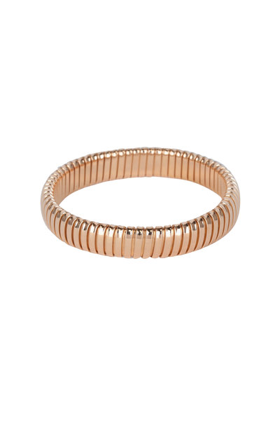 Sidney Garber - 18K Rose Gold Single Rolling Bracelet