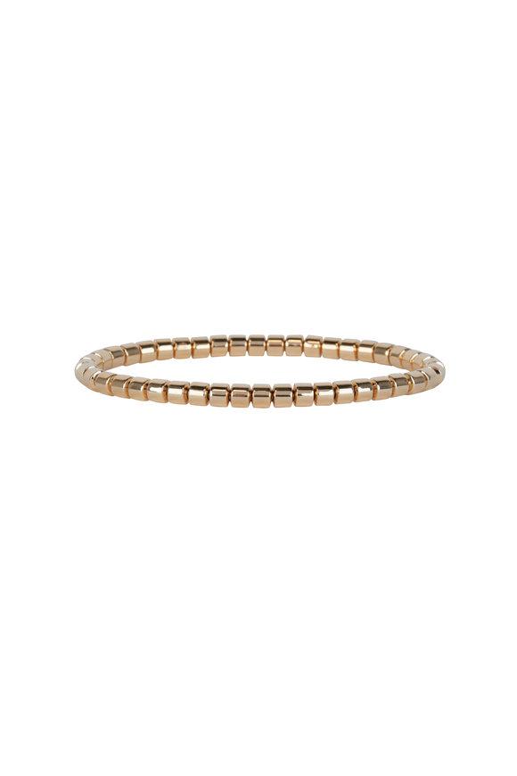 Sidney Garber Taren 18K Yellow Gold Flex Bracelet