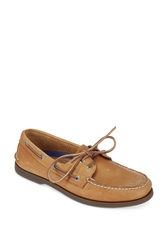 Sperry Authentic Original Sahara Leather Boat Shoe