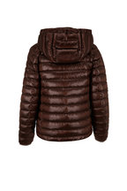 Bogner - Tini Brown Detachable Hood Puffer Coat