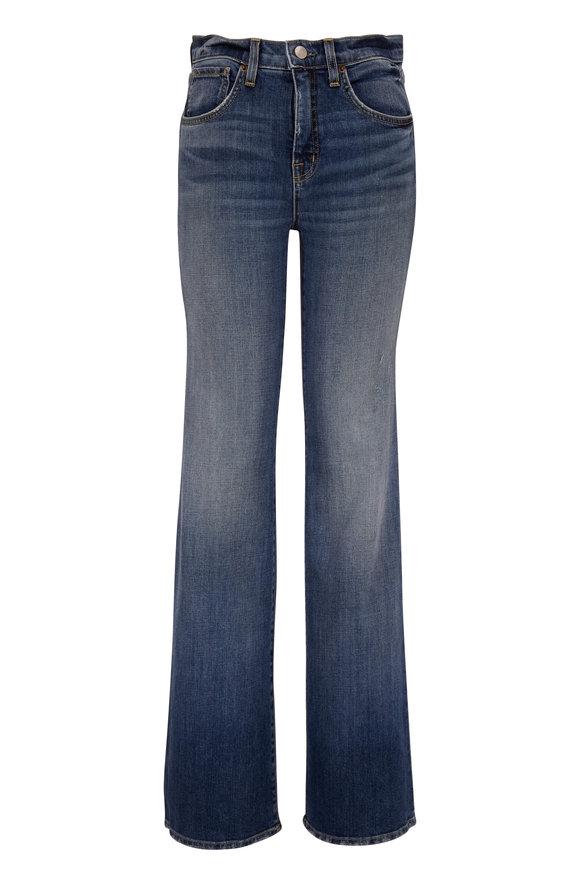 Nili Lotan Celia Classic Wash High-Rise Slim Jean