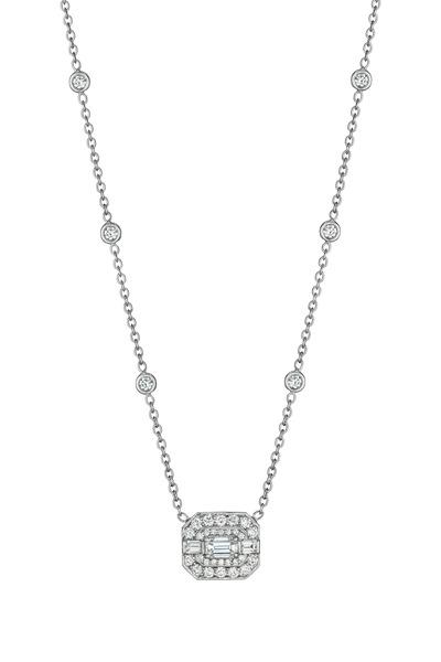 Penny Preville - White Gold White Diamond Necklace