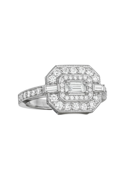 Penny Preville - Rose Gold Diamond Cocktail Ring