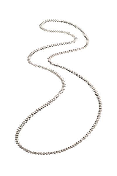 Eddie Borgo - Brass Plate Pavé Cone Necklace