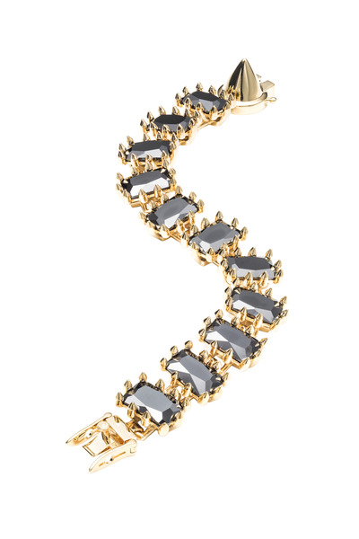Eddie Borgo - Brass Plate Jet Small Rectangle Estate Bracelet