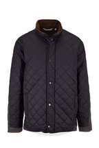 Peter Millar - Suffolk Black Quilted Coat