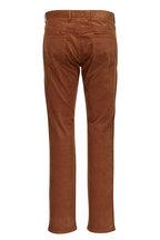 Peter Millar - Brown Soft Corduroy Five Pocket Pant