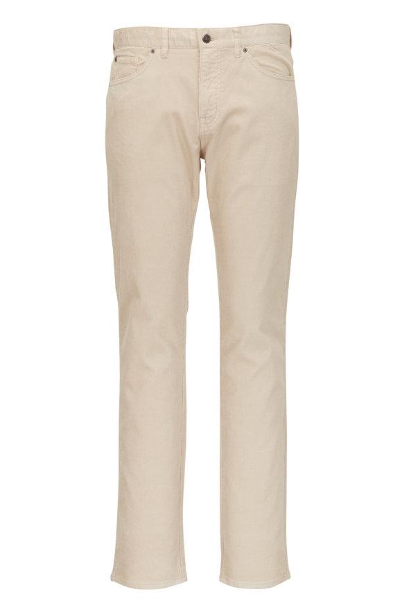 Peter Millar Stone Soft Corduroy Five Pocket Pant