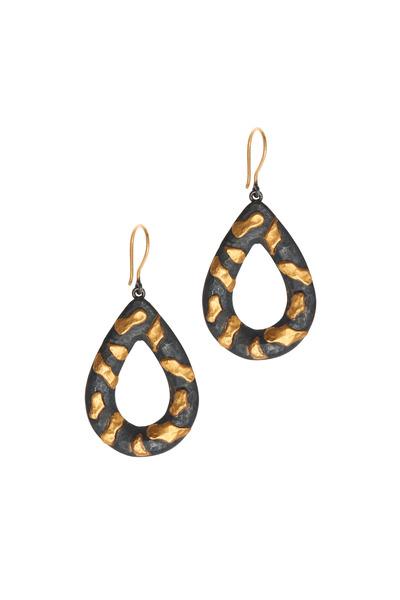 Yossi Harari - Libra Yellow Gold Drop Earrings