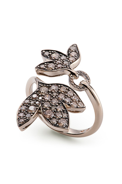 H. Stern - Noble Gold Diamond Hera Leaf Ring