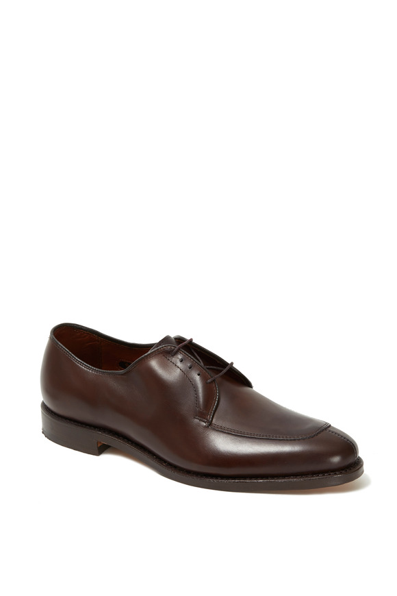 Allen Edmonds Delray Brown Leather Derby Shoe
