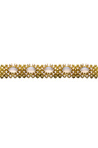 Paul Morelli - Yellow Gold Moonstone Macrame Bracelet