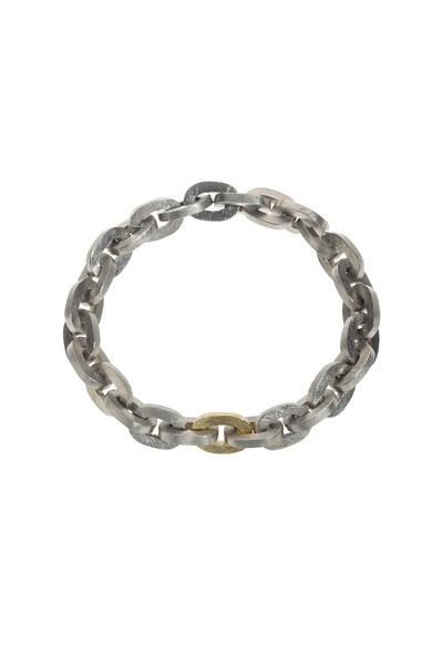 Todd Reed - Gold & Silver Palladium Bracelet