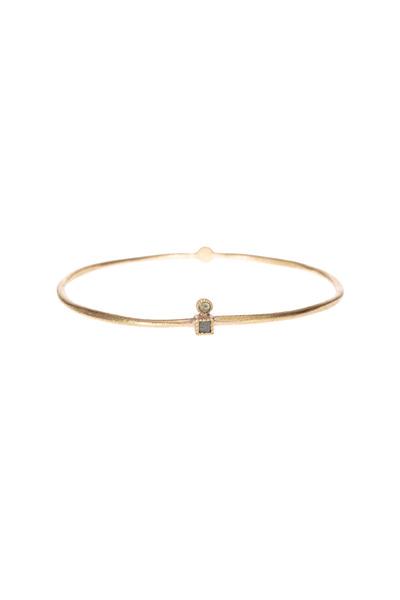 Todd Reed - Rose Gold Diamond Bangle Bracelet