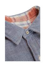 Faherty Brand - Belmar Foliage Plaid Reversible Long Sleeve Shirt