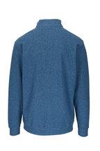 Peter Millar - Arnie Blue Quarter-Zip Pullover