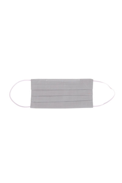 Made by Hand - Charcoal Graph Check Mask