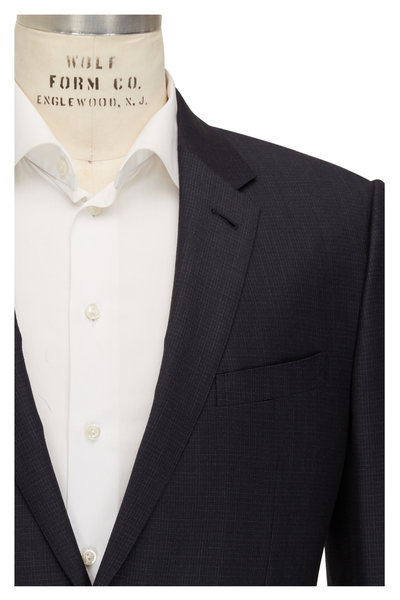 Ermenegildo Zegna - Charcoal Gray Striped Wool & Silk Suit